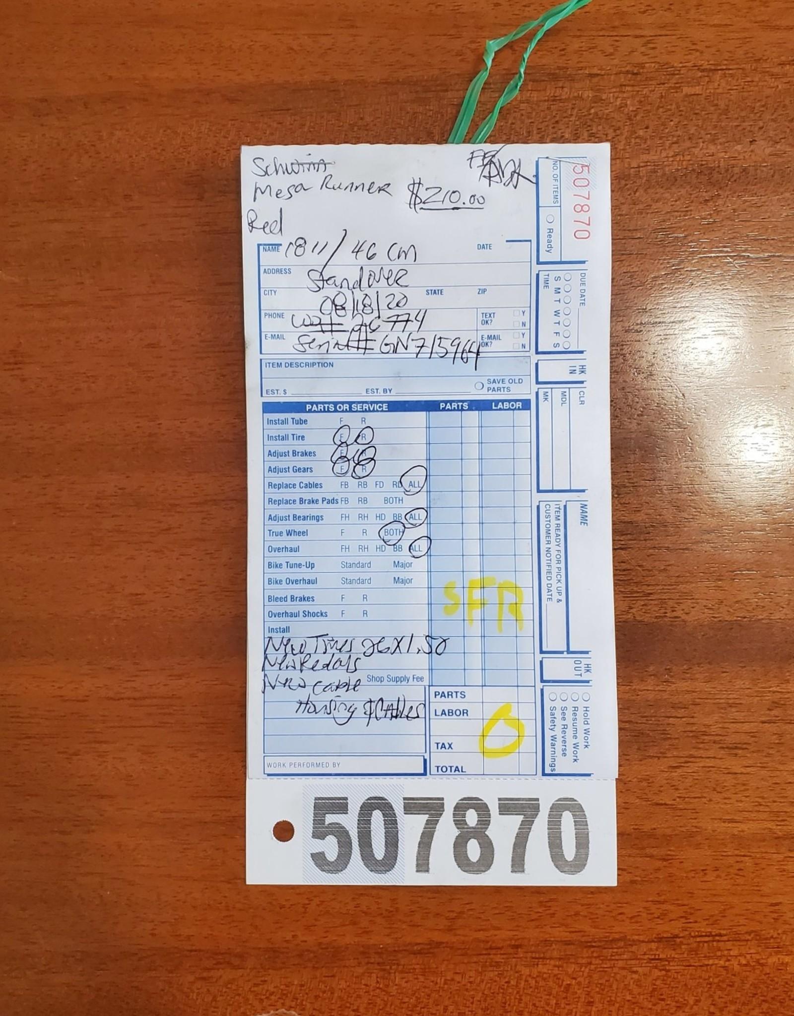 """18"""" Schwinn Mesa Runner (5964 SFR)"""