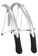 Planet Bike Full Fender Set PB Cascadia 700x45mm (Tire sizes 700c x 25-35)Silver