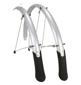 Planet Bike Cascadia Fender Set PB 45mm (up to 700c x 38) Silver