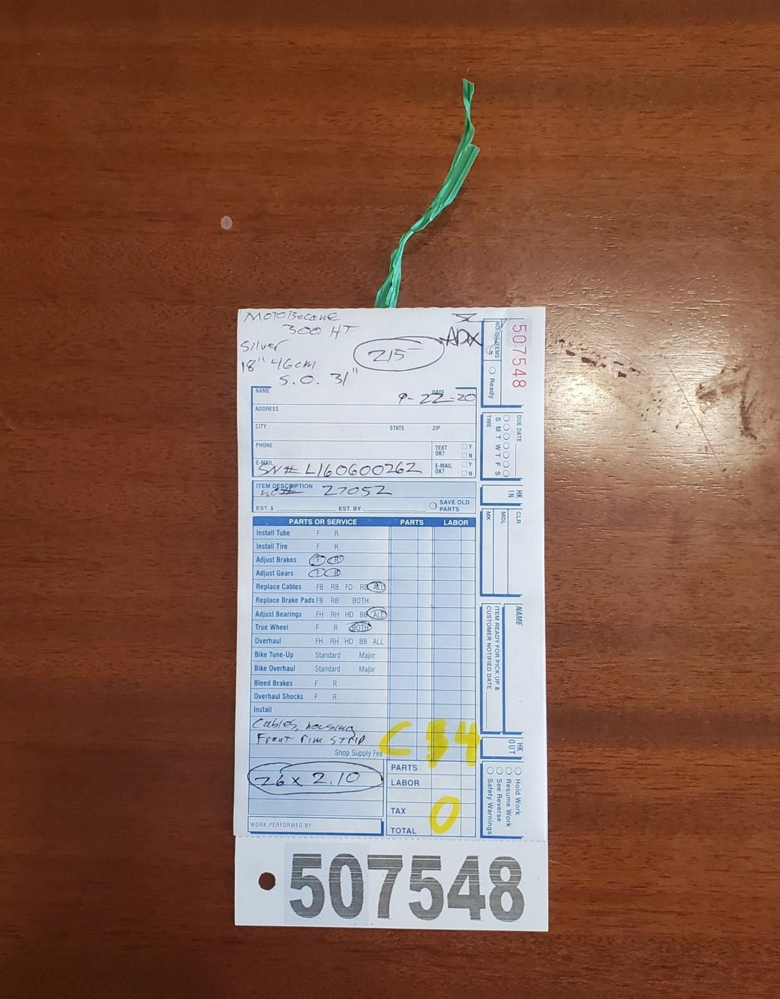 """18""""  Motobecane 300HT (0262 C4)"""