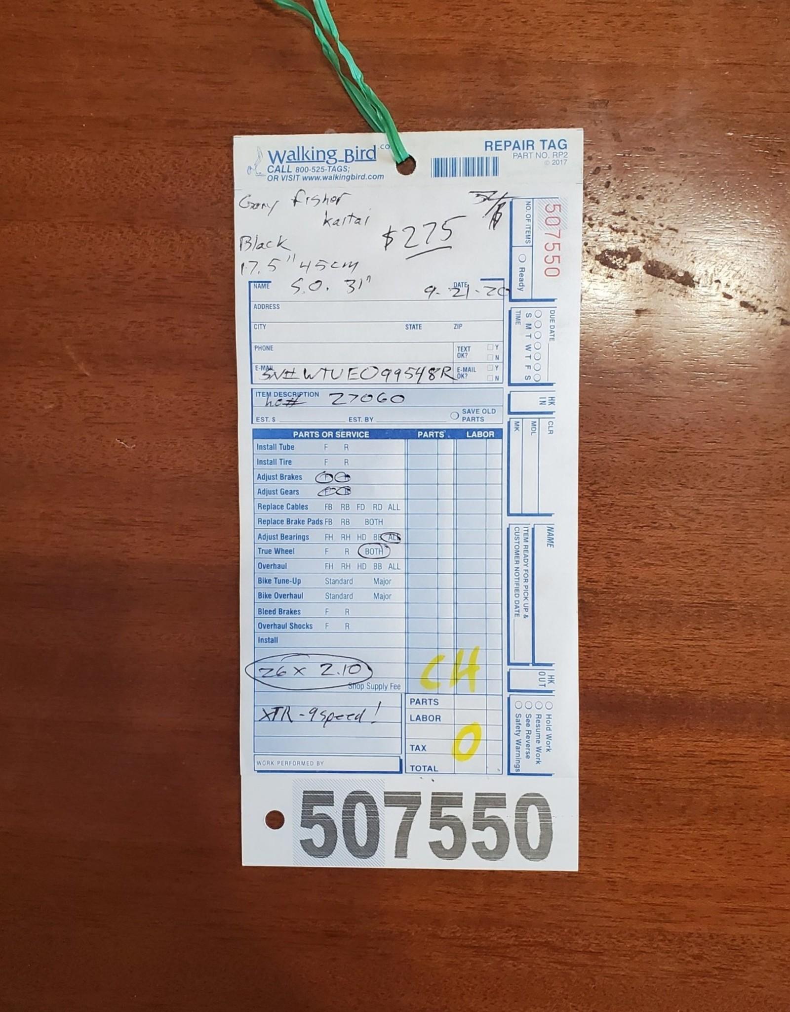 """17.5"""" Gary Fisher Kaitai (548R C4)"""