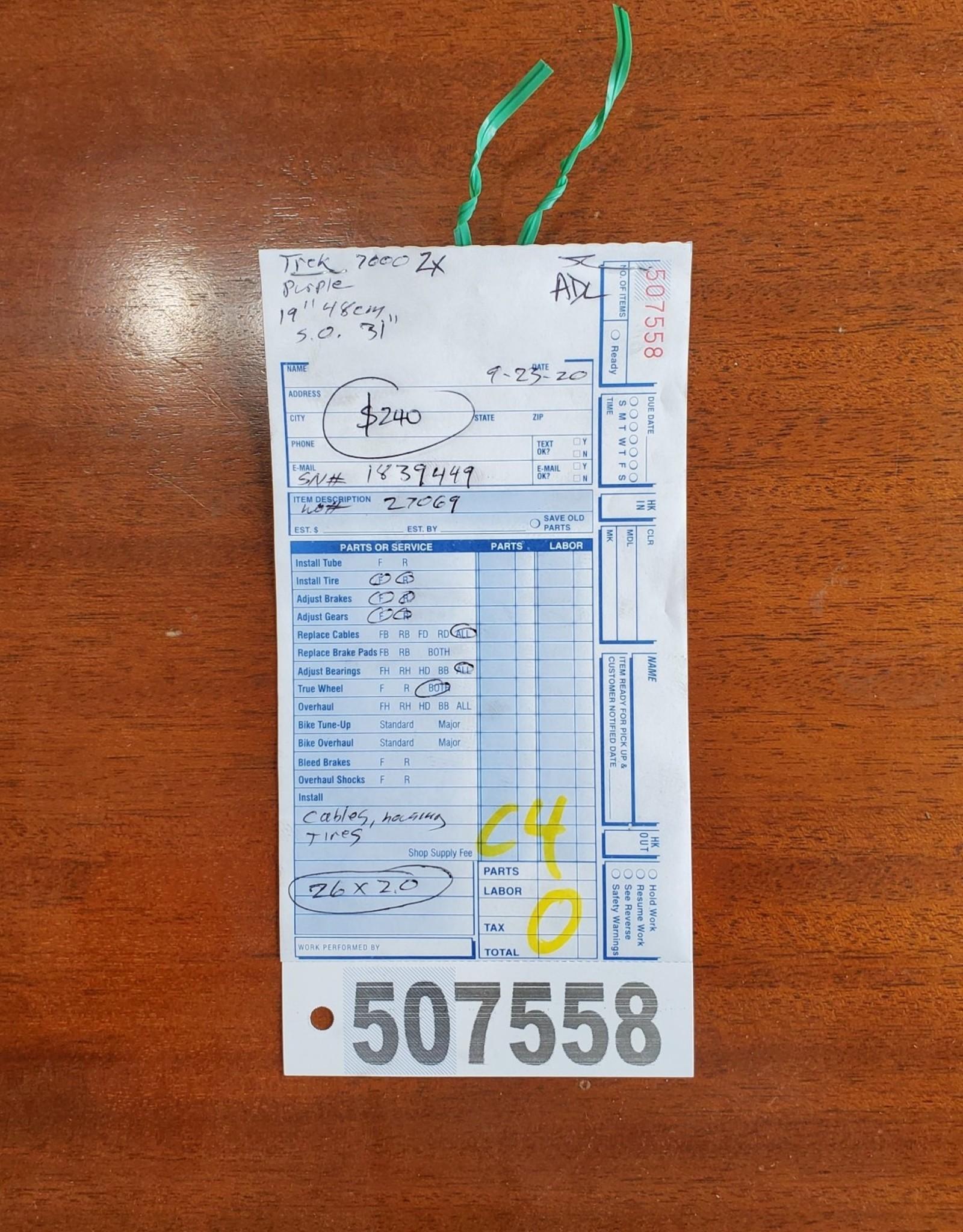 """19"""" Trek 7000 zx (9449 C4)"""