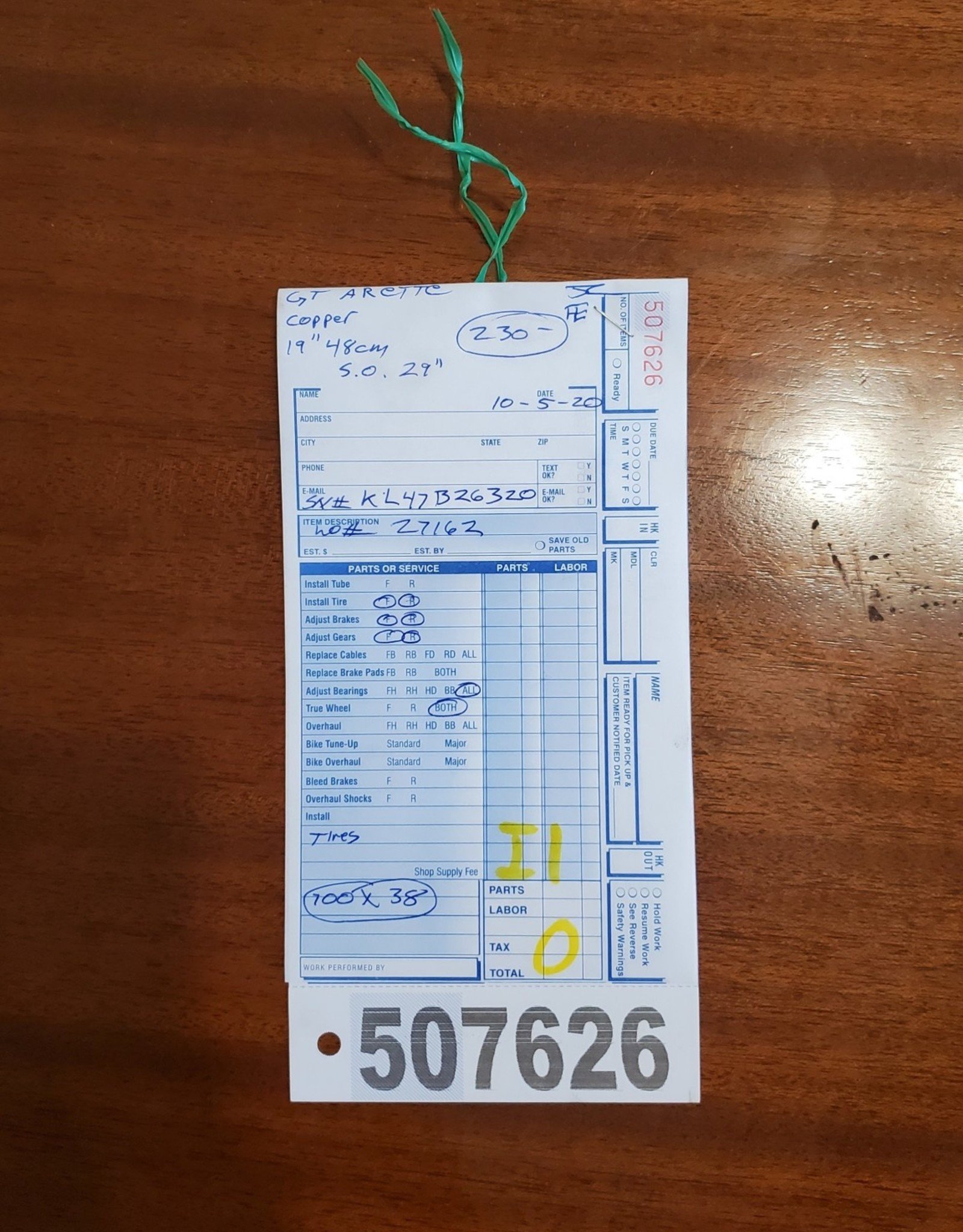 """19"""" GT Arette (6320 I1U)"""