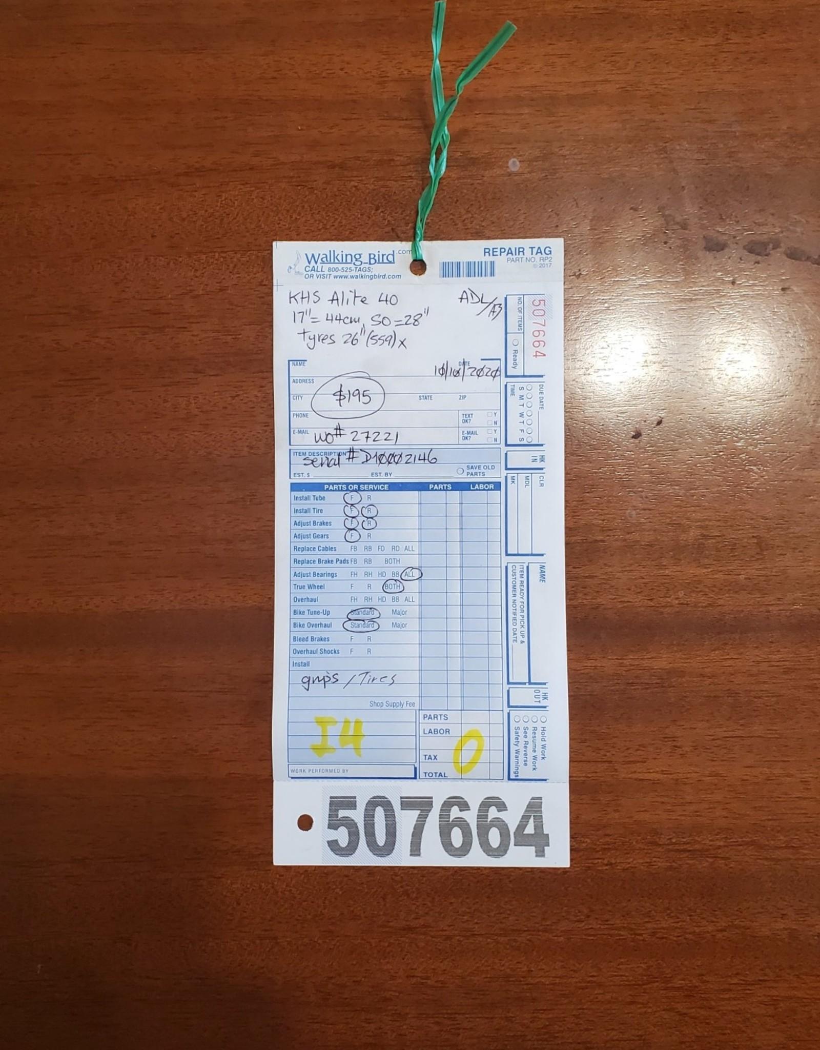 """17""""  KHS Alite 40 (2146 I4U)"""