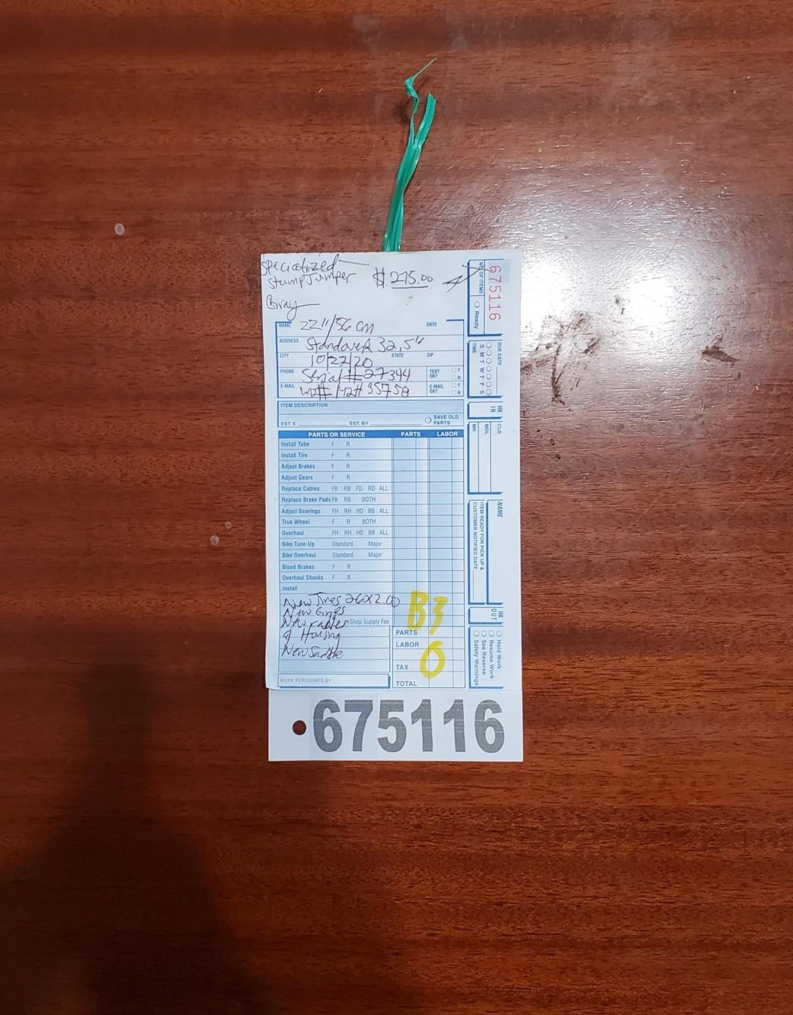 """22""""  Specialized StumpJumper (5758 B3)"""