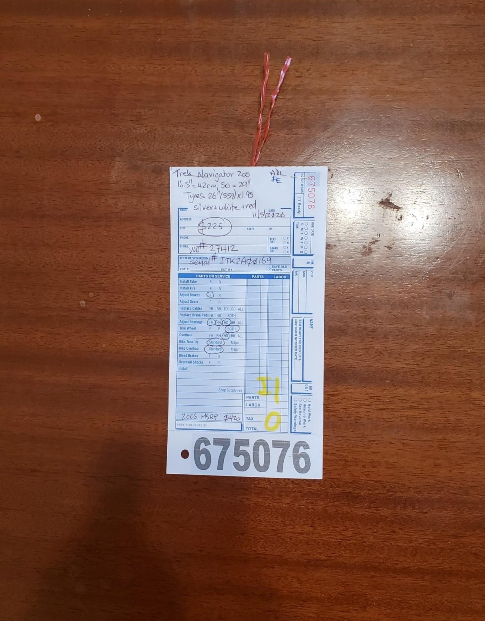 """16.5""""  Trek Navigator 200 (0169 I1U)"""