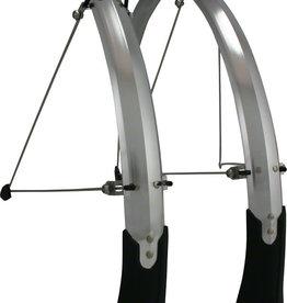 Planet Bike Cascadia ALX 700c x 43 Fender Set: Silver (700c x 25-35)