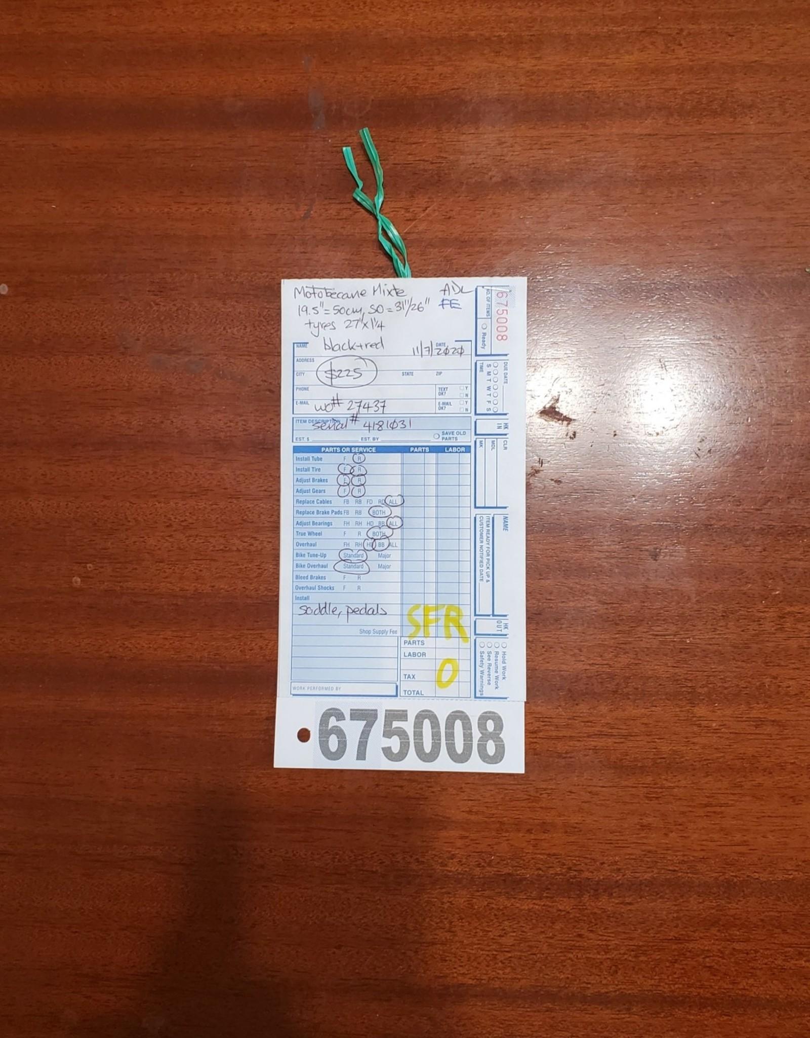 50cm  Motobecane Mixte (1031 SFR)