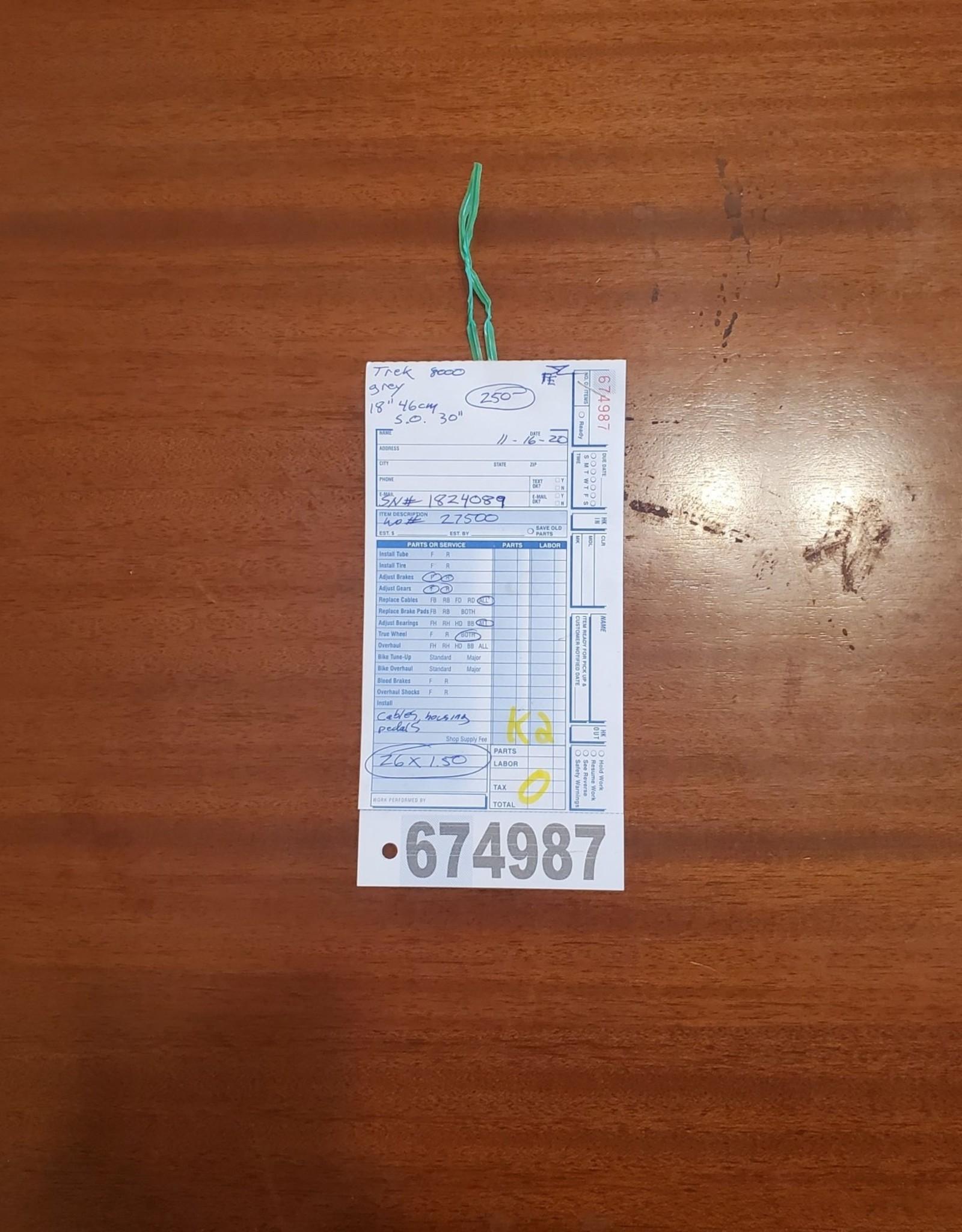 """18""""  Trek 8000 (4089 K2U)"""