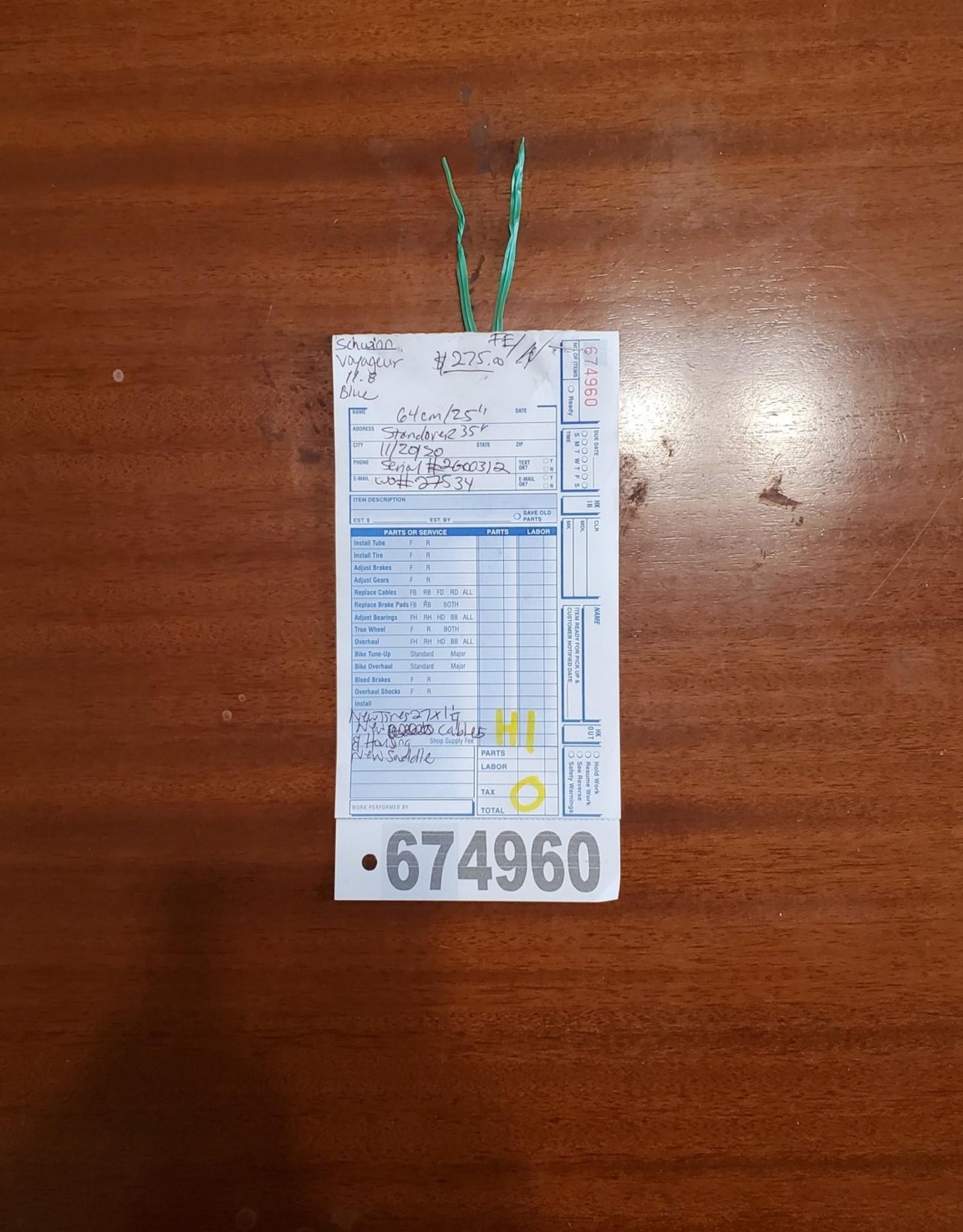 64cm  schwinn voyageur 11.8 (0312 H1U)