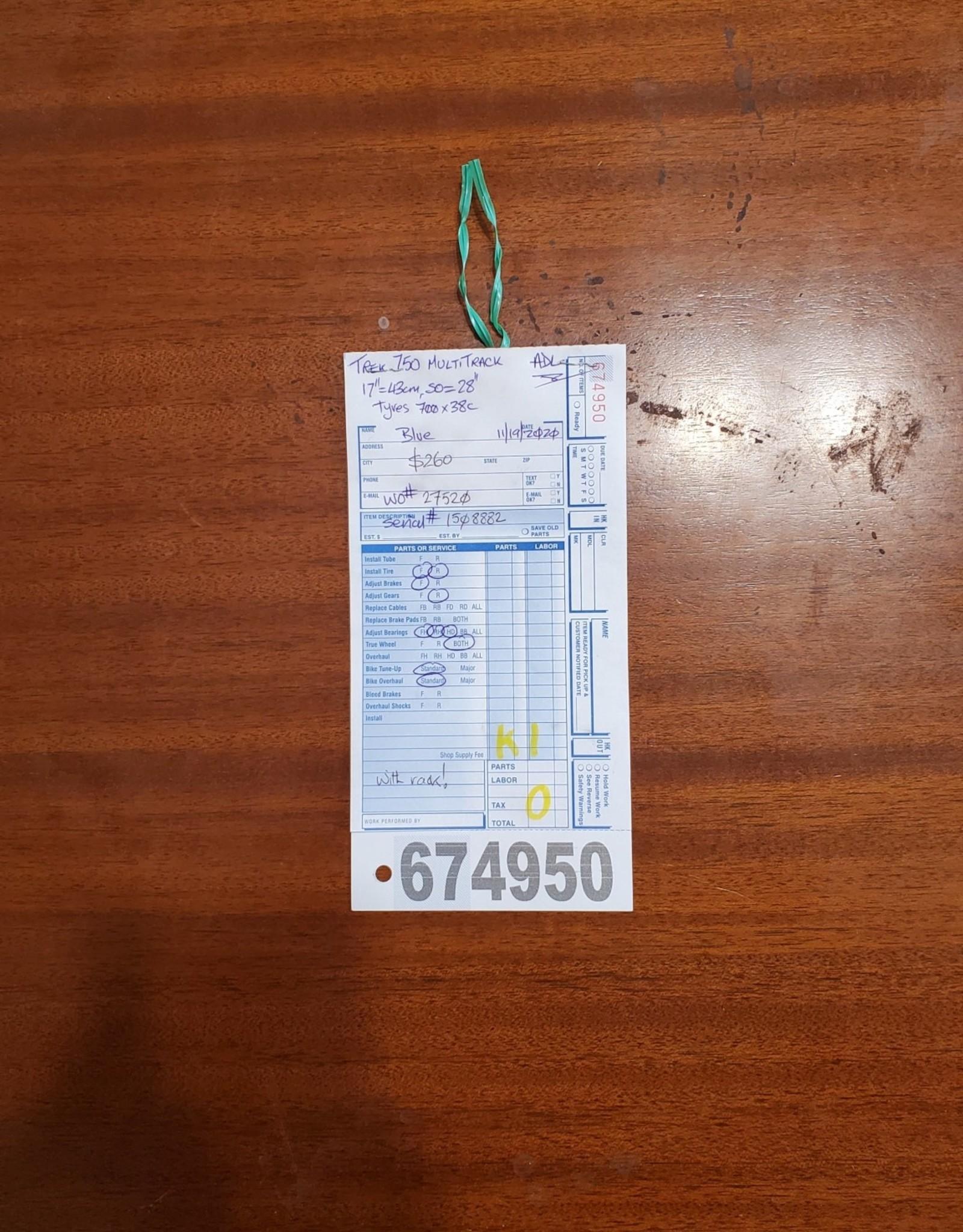 """17"""" Trek Multitrack 750 (8882 K1U)"""