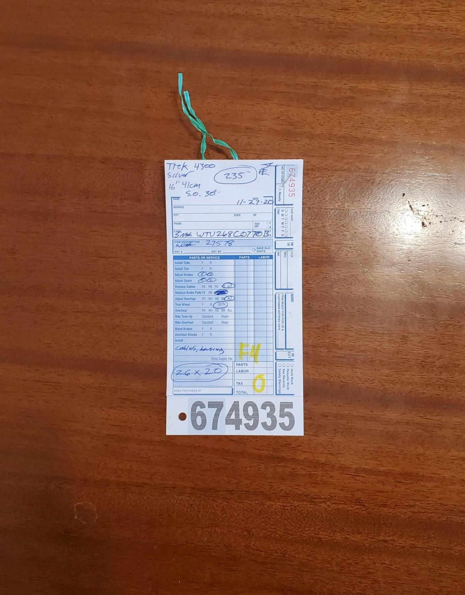"16""  Trek 4300 (770B F4U)"