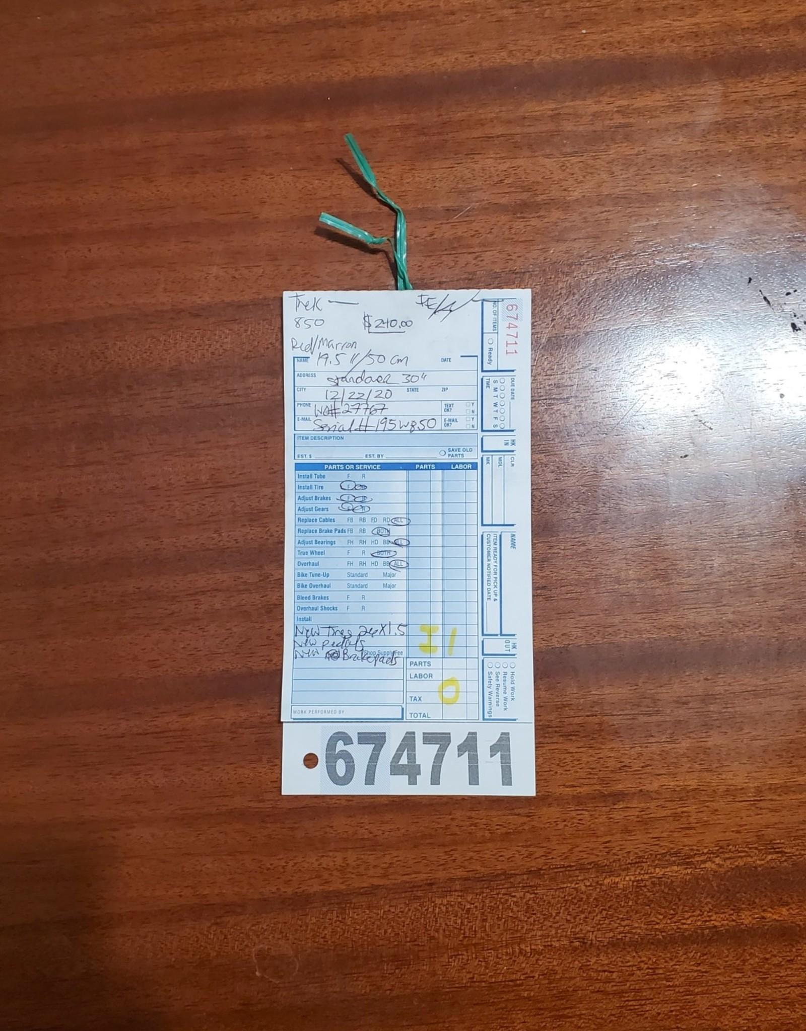 "19.5""  Trek 850 (W850 I1U)"