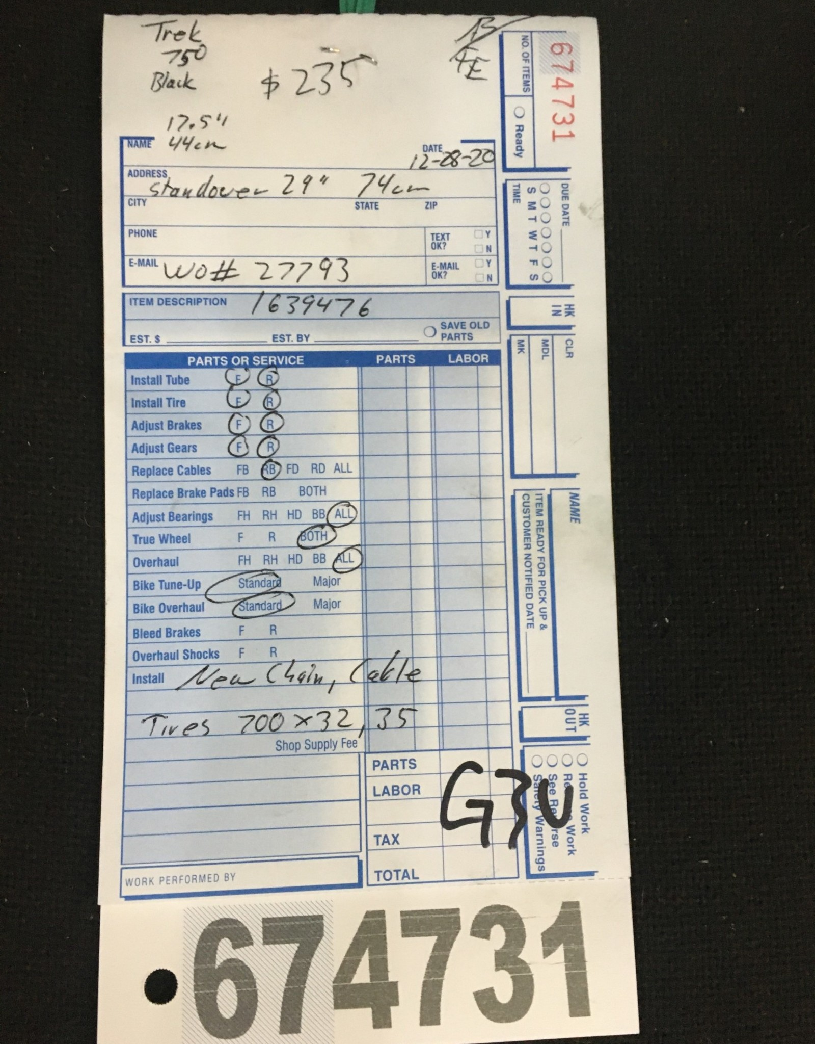 """17.5"""" Trek Multitrack 750 (9476 G2u)"""