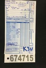 "16.5"" Trek 930 Singletrack XC (438M k3u)"