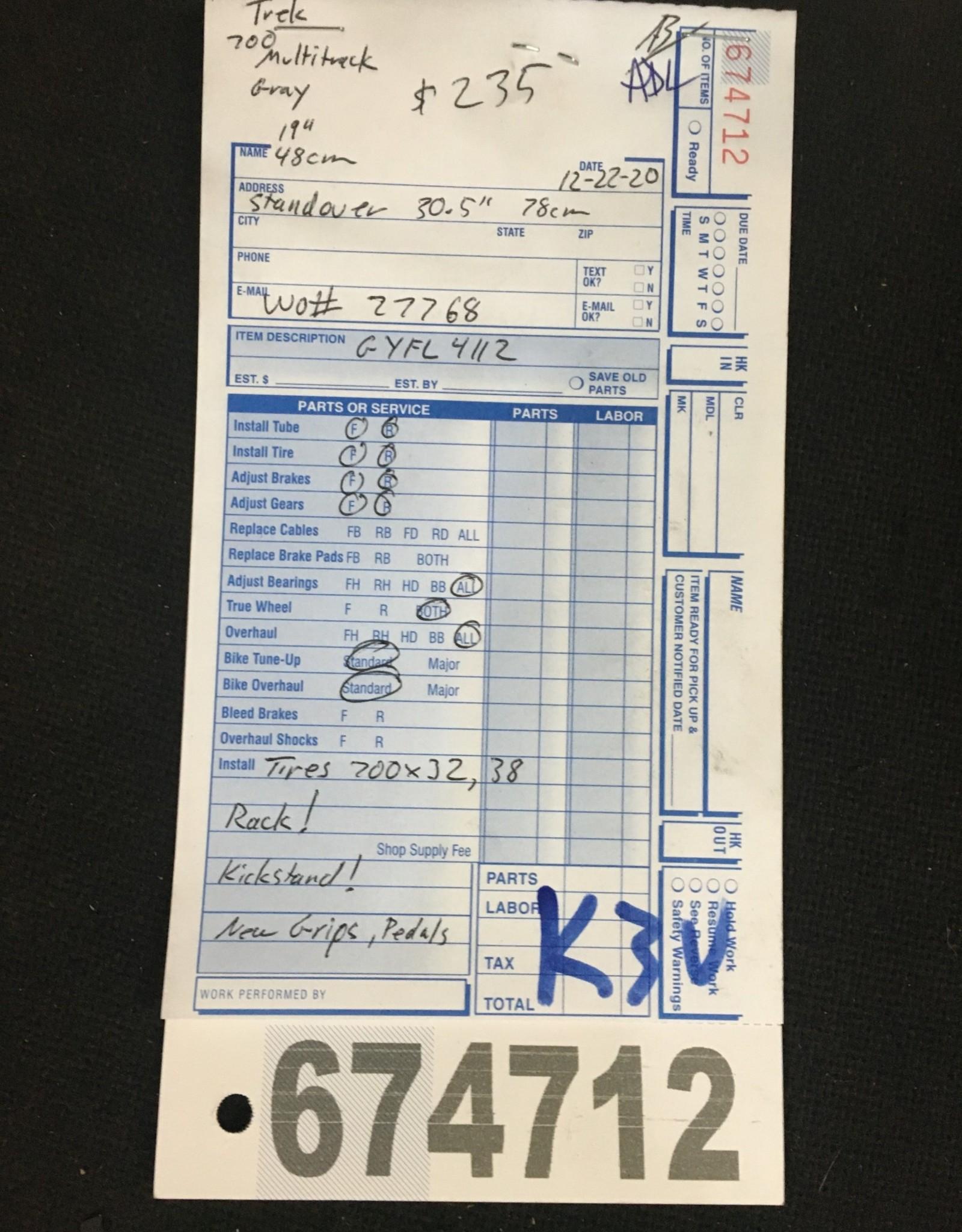 """19"""" Trek 700 Multitrack (4112 k3u)"""