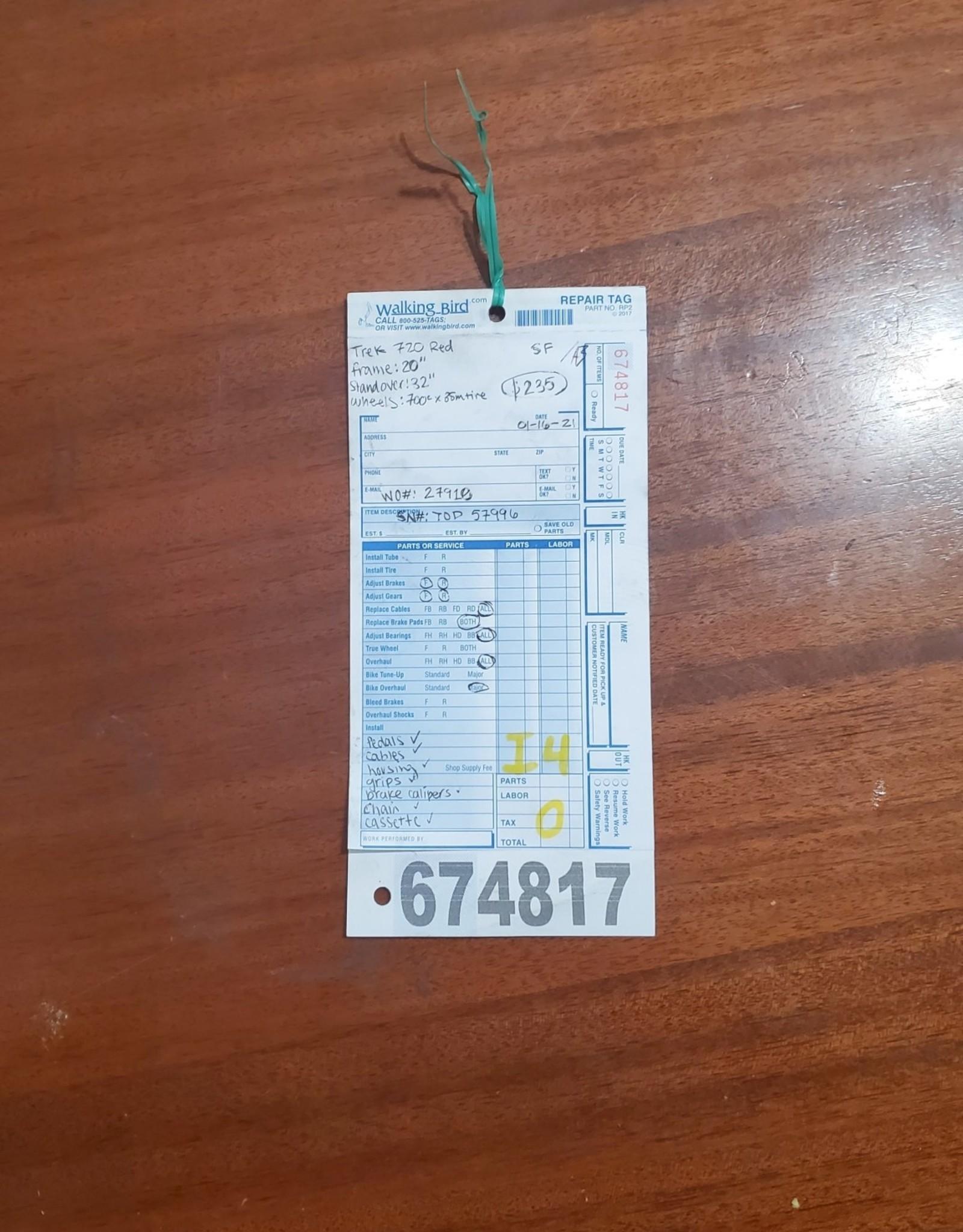 """20""""  Trek 720 Multitrack (7996 I4U)"""