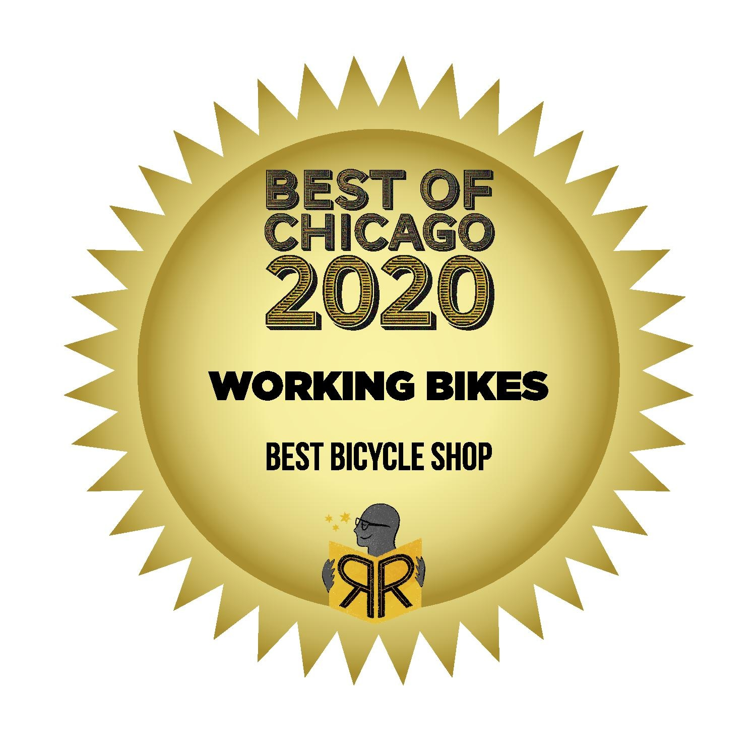 Best Bicycle Shop in Chicago 2020 Badge