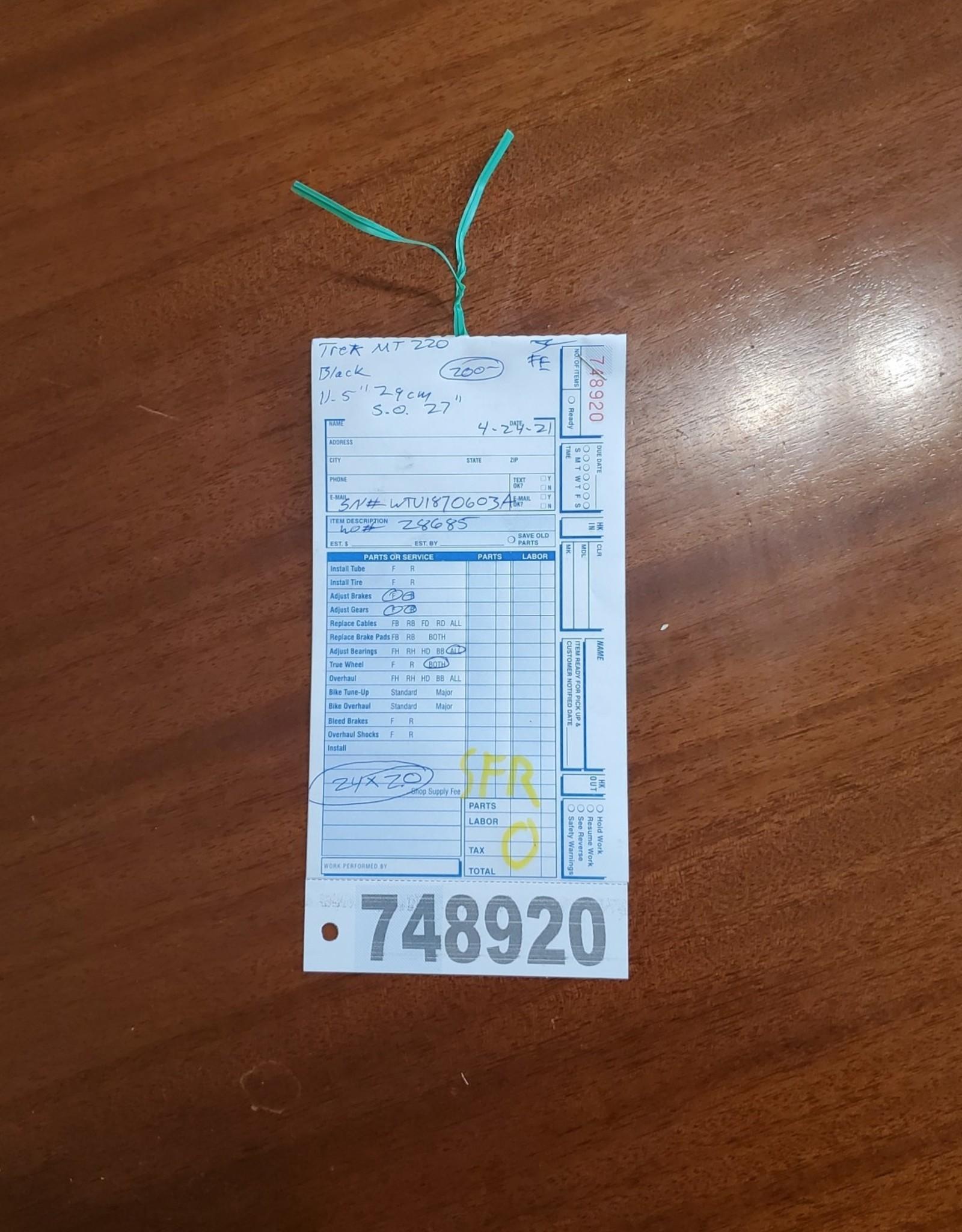 """24""""  Trek MT 220 (603A SF)"""