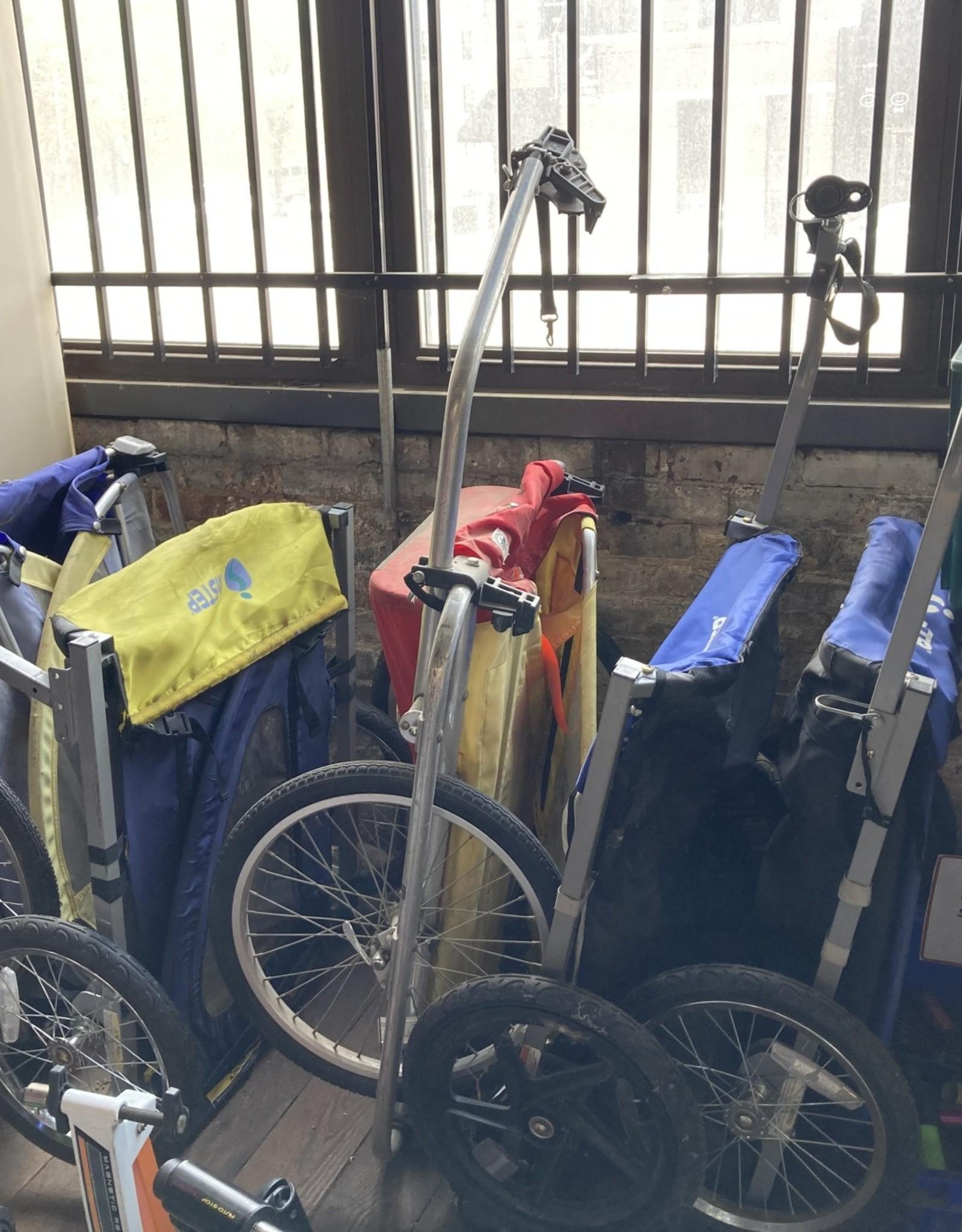 Assorted Bike Trailers: $40 - $120