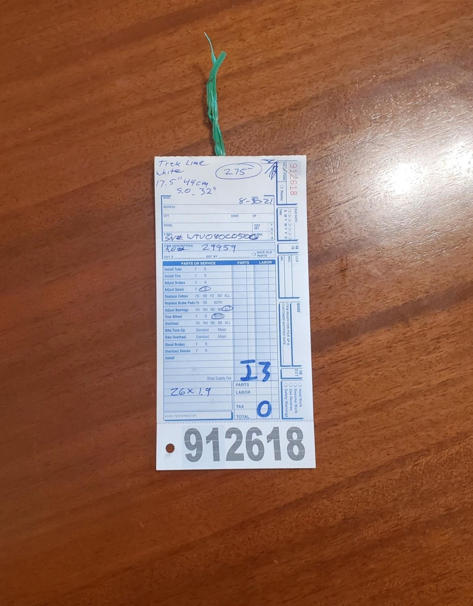 """17.5"""" Trek Lime (510c i3)"""