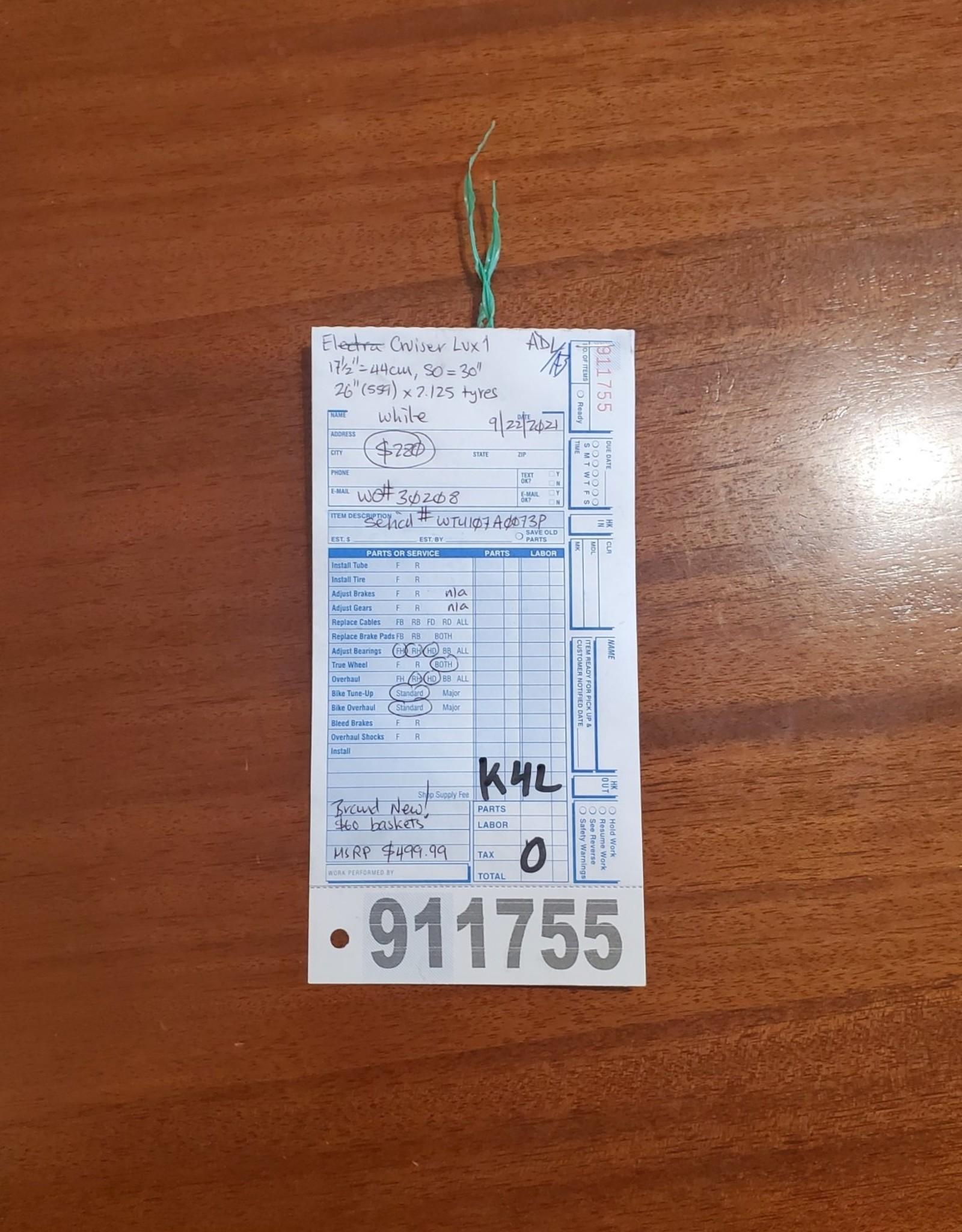 """17.5"""" Electra Cruiser Lux 1 (073P K4U)"""