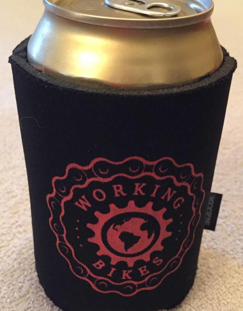 Working Bikes Beverage Koozie