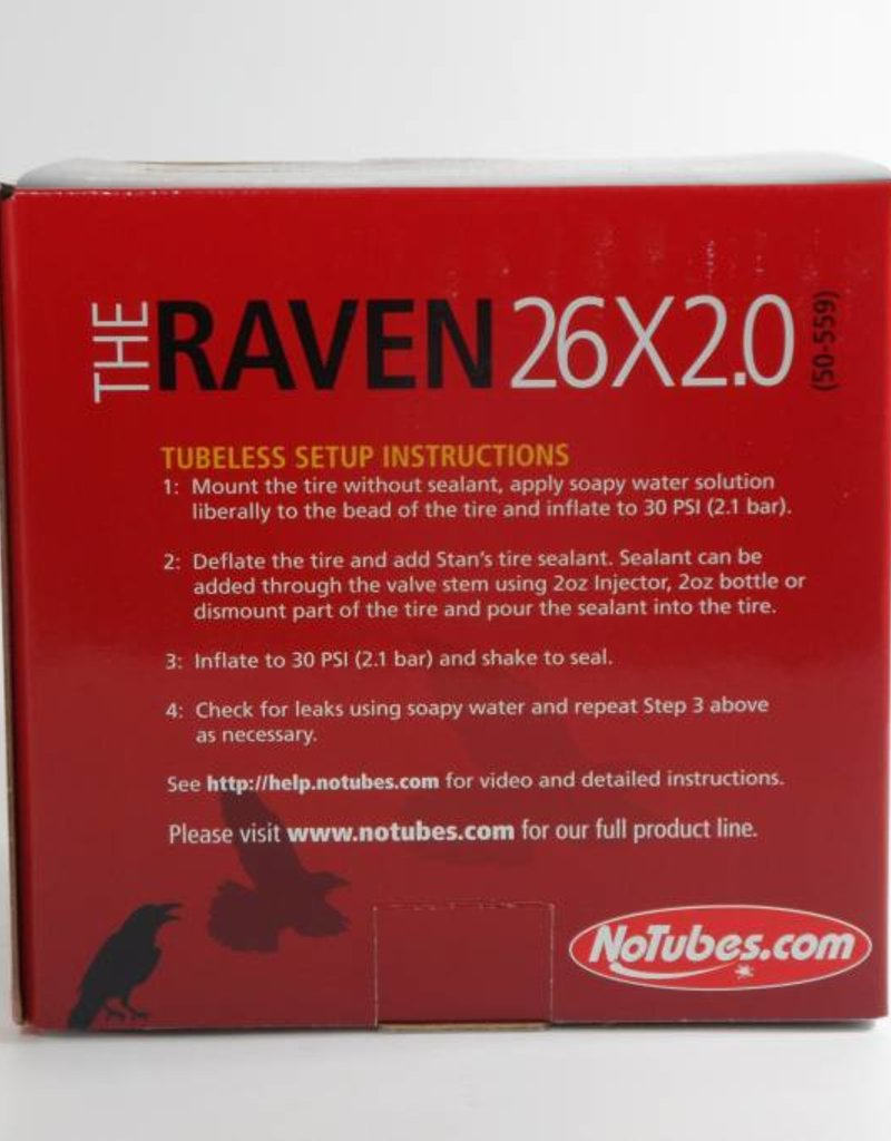 The Raven 26 X 2.0 Tire