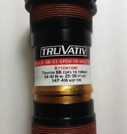 TruVativ GIGAPIPE TEAM DH 118x68 BB W/M-12-THREADS