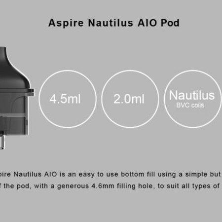 Aspire Nautilus AIO Pods Pack ( 1pc )