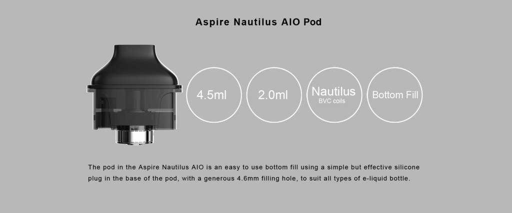 Aspire Nautilus AIO Pods Pack ( 1pc )