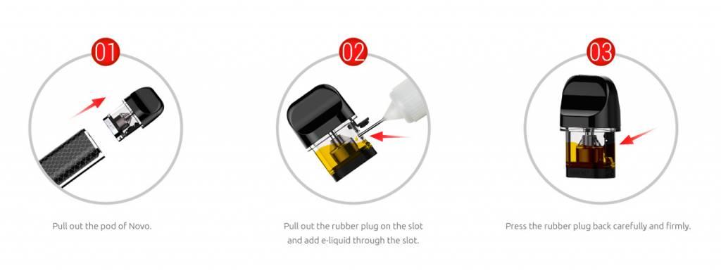 Smok NOVO Replacement Pods Pack ( 3pcs )