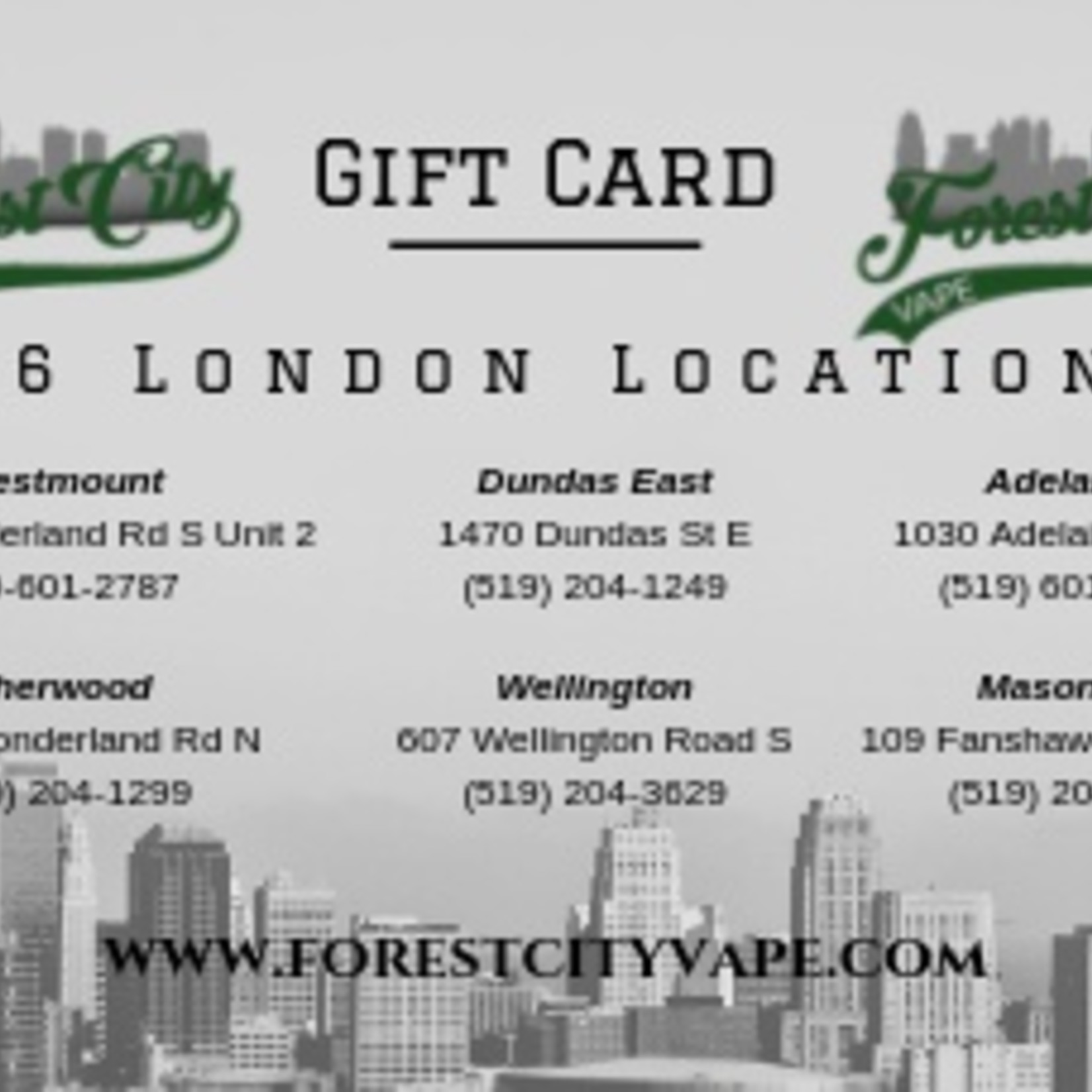 Re-loadable Gift Card