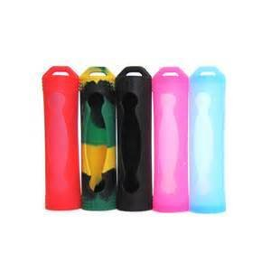 18650 Battery Case Silicone Single Battery