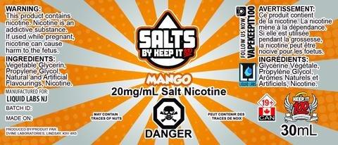 Keep it 100 Mango Salts