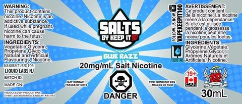 Keep it 100 Blue Razz Salts