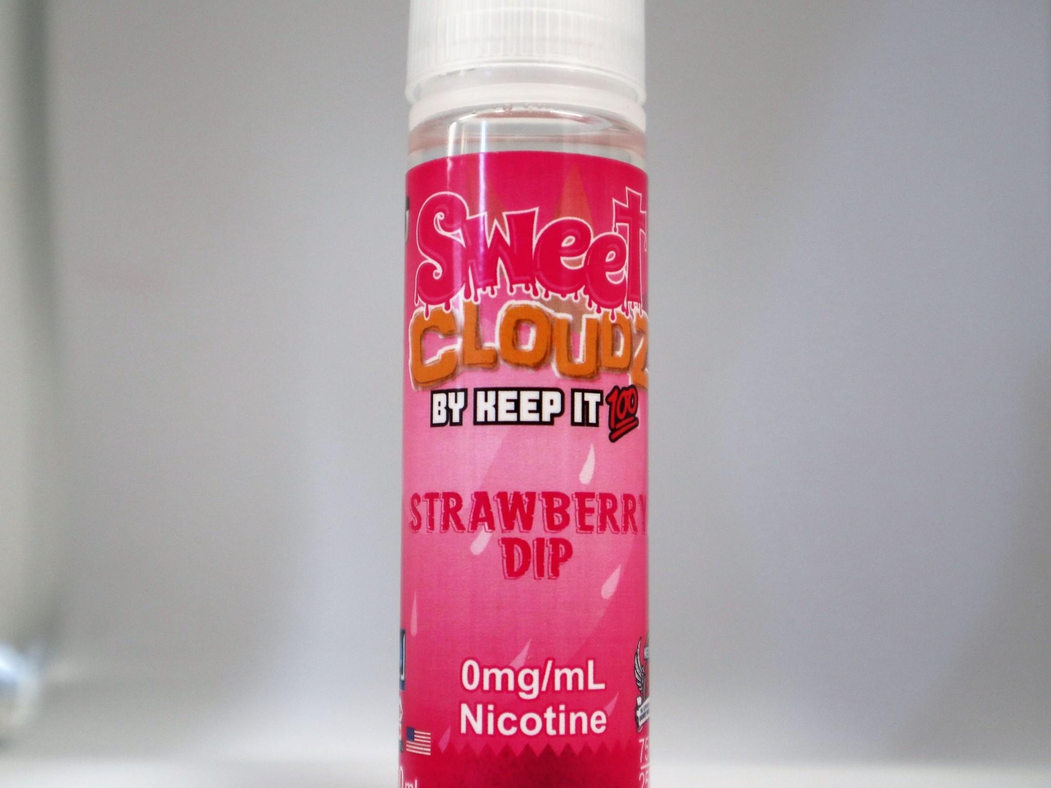 Keep it 100 Sweet Cloudz Strawberry Dip