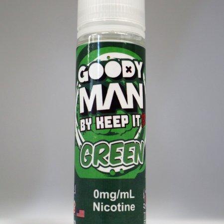 Keep it 100 Goody Man Green