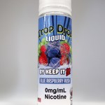 Keep it 100 Trop Drops Blue Raspberry Rush