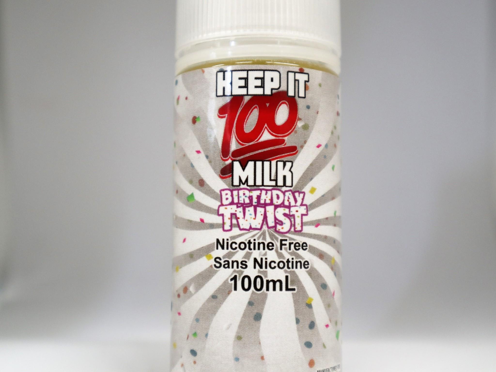 Keep It 100 Birthday Twist