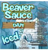 Beaver Sauce Dam Iced