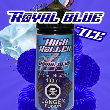 High Roller Royal Blue Ice
