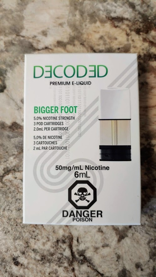 STLTH Pods Pack Decoded Bigger Foot