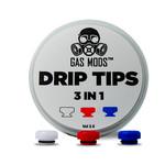 § Gas Mods GR1 Drip Tip 3 in 1
