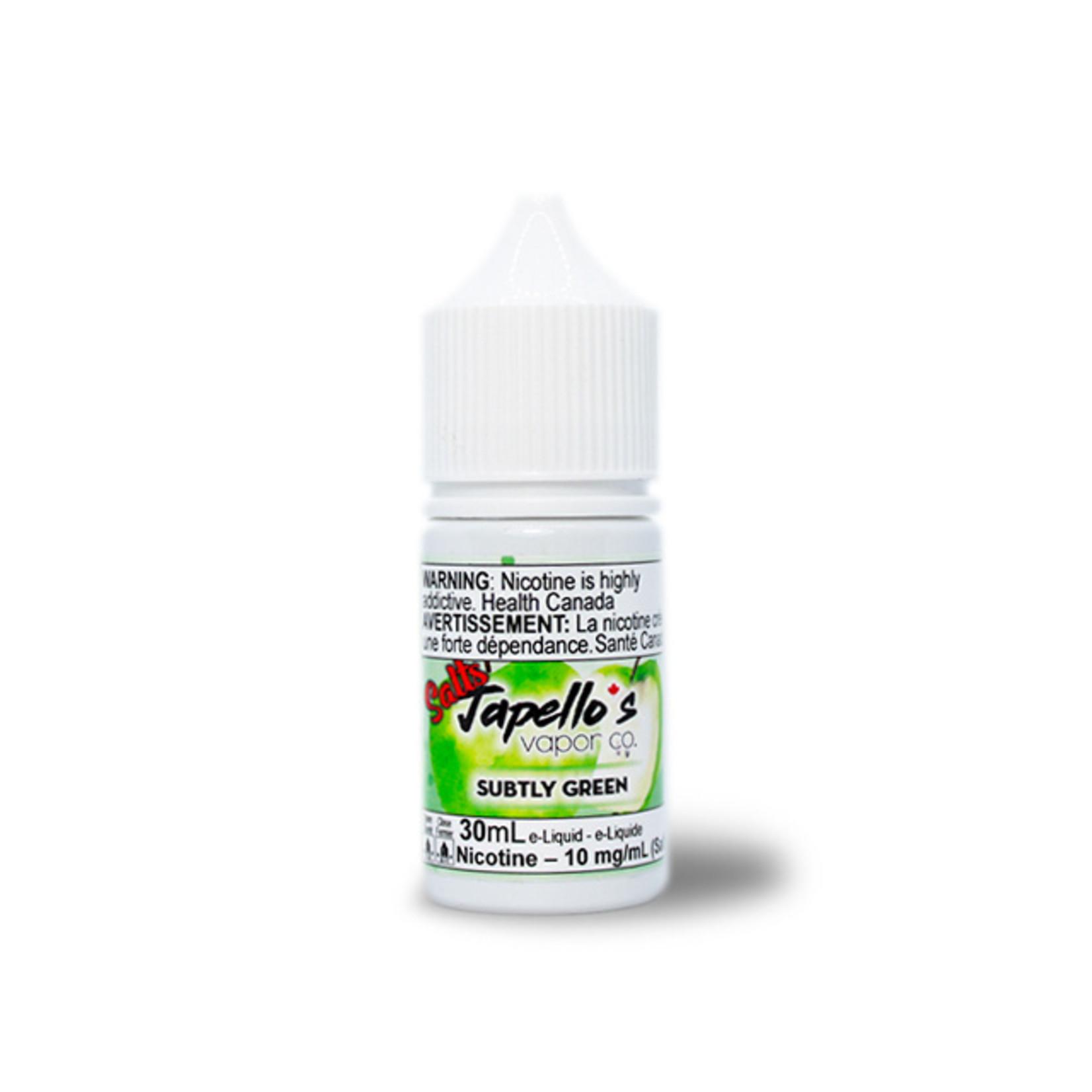 Japello's Subtly Green Nic Salt
