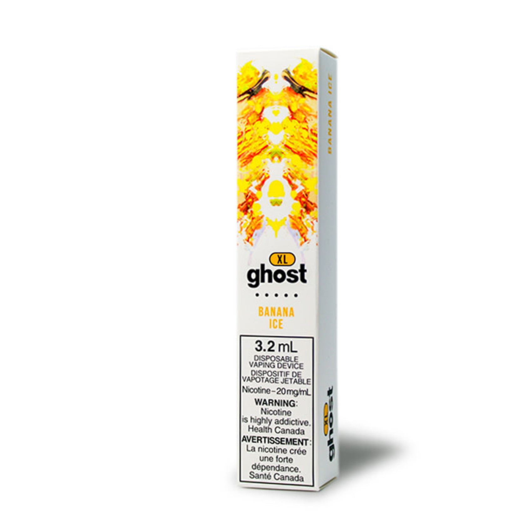 GHOST XL 800 PUFF Disposable Banana Ice