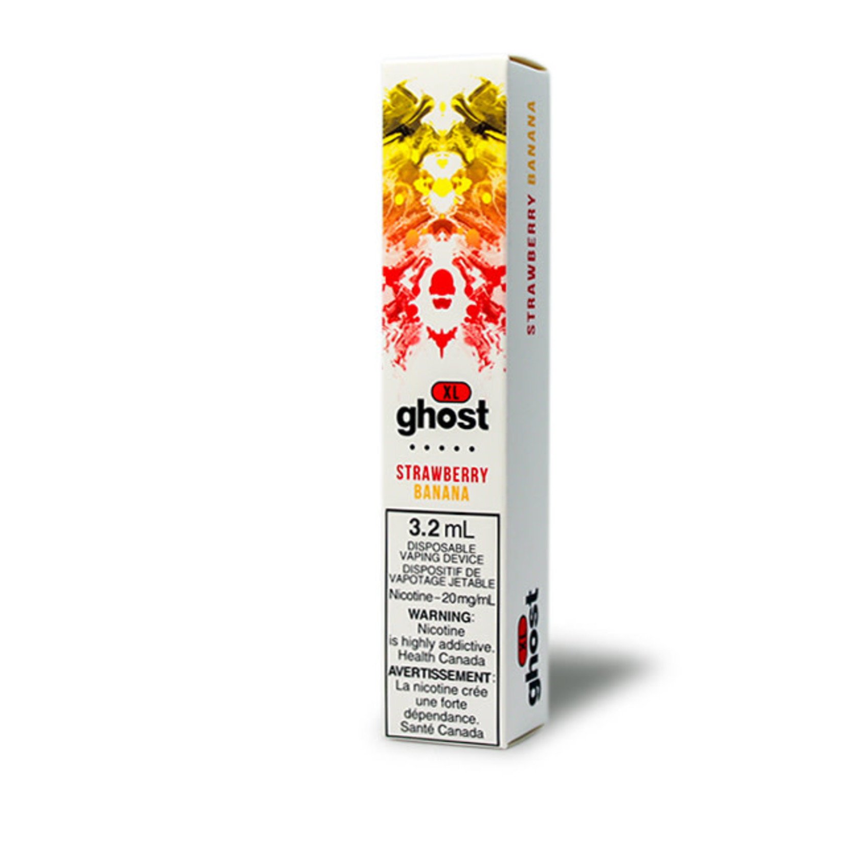 GHOST XL 800 PUFF Disposable Strawberry Banana