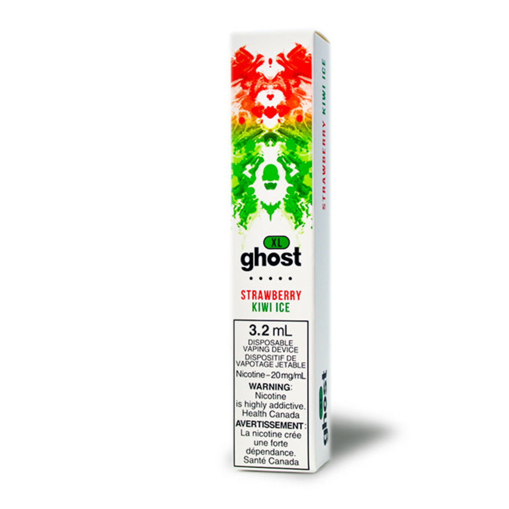 GHOST XL 800 PUFF Disposable Strawberry Kiwi Ice