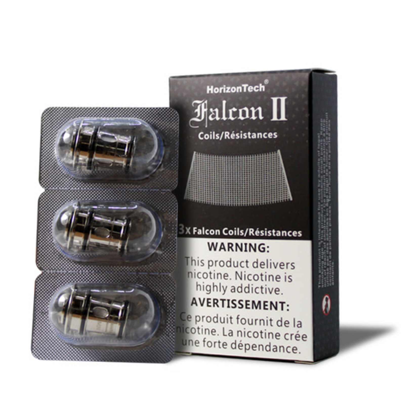 Horizontech Falcon 2 Replacement Coils Sector Mesh 0.14 ohm Pack (3 pcs)