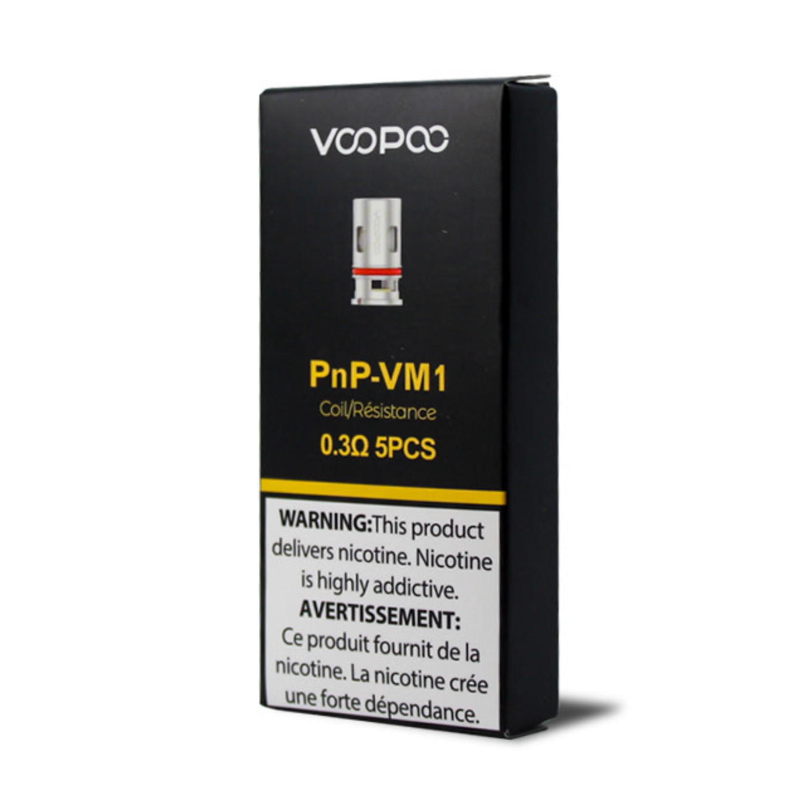 Voopoo Vinci PNP Replacement Coil VM1 0.3 ohm Pack (5pcs)
